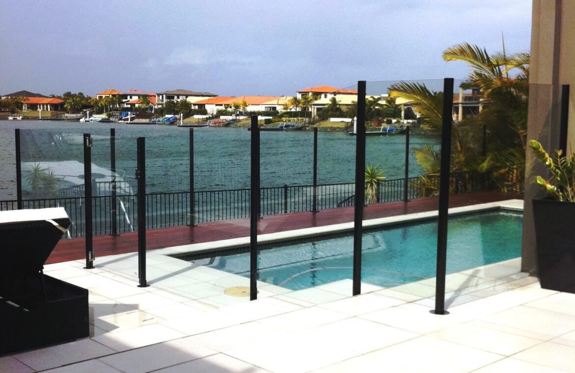 Waterside Pool Fencing - Elegant Frameless Pool Glass Fence