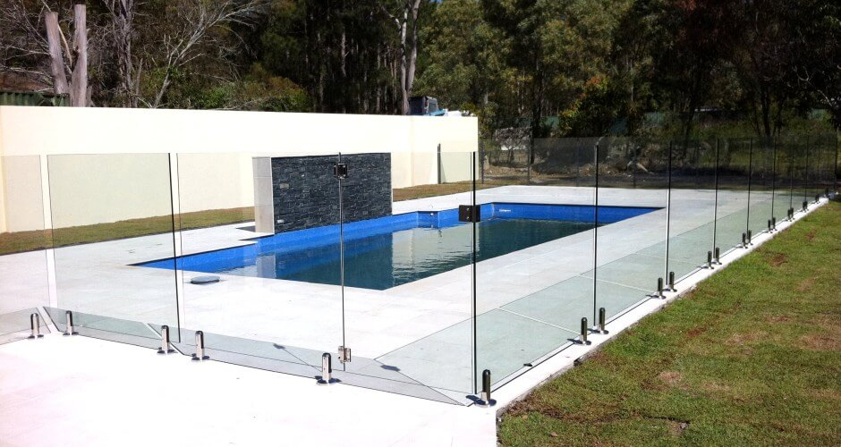 Waterside Pool Fencing - Elegant Frameless Pool Glass Fencing by the Garden