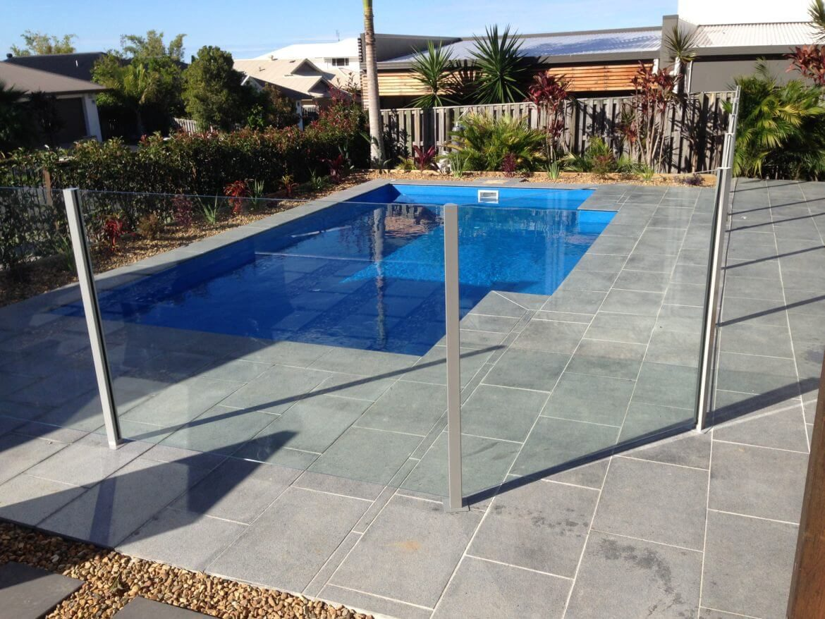 Waterside Pool Fencing - Semi-Frameless Pool Glass Fencing Projects